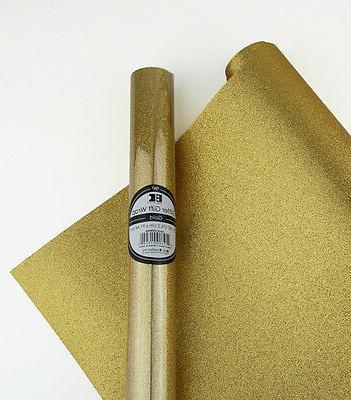 Glitter Gift Wrap / Wrapping Paper - 10 Colors!  Does not sh