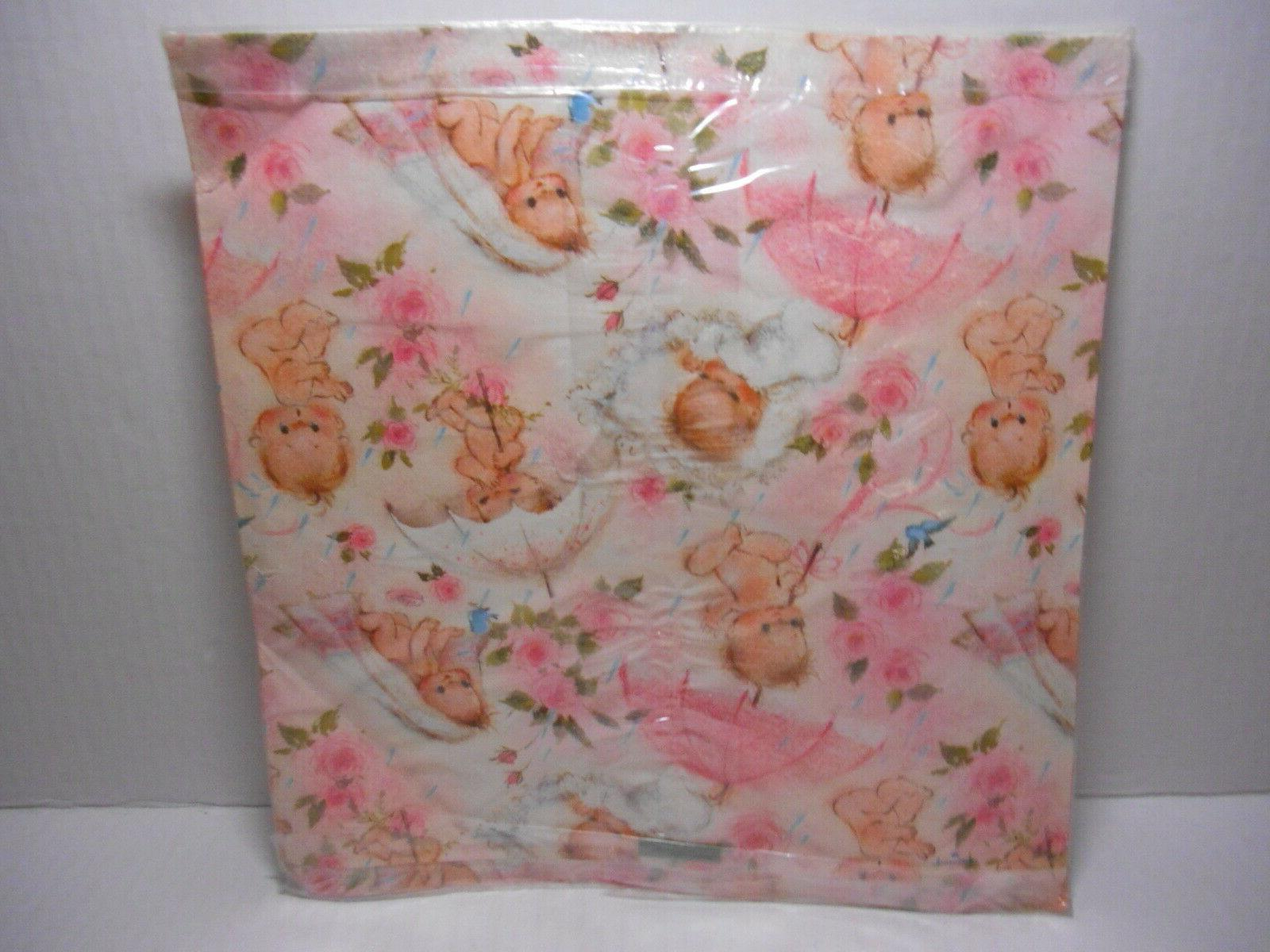 Hallmark MARY Gift Wrap Wrapping SHOWER