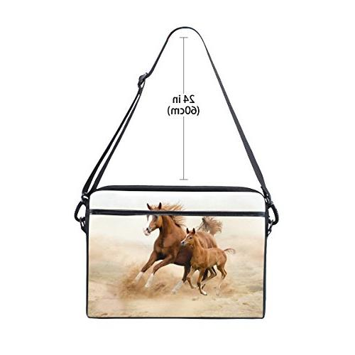 Horse Inch Laptop Bag Case Sleeve with Men