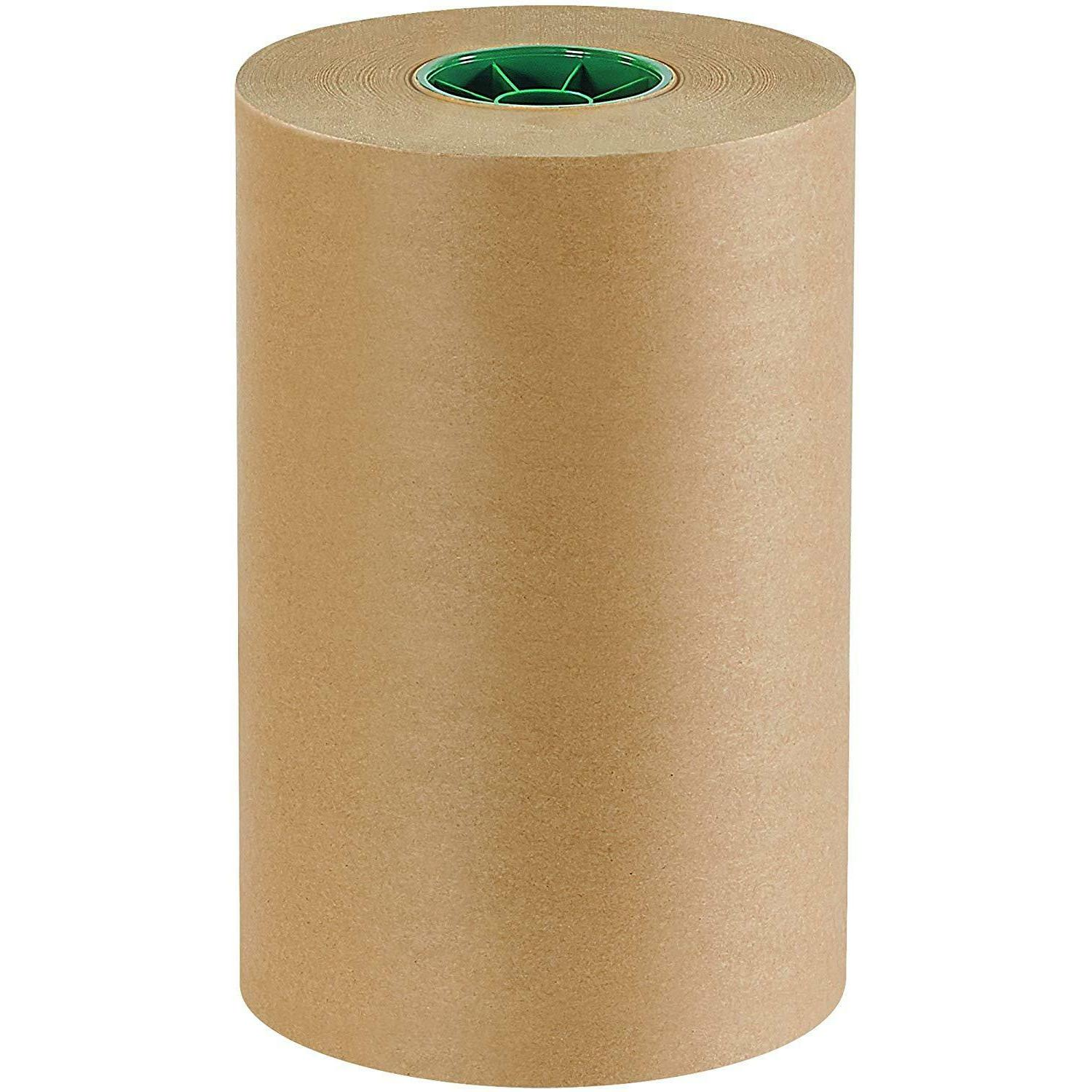 Kraft Brown Paper Rolls Shipping Wrapping Cushioning Void Fi