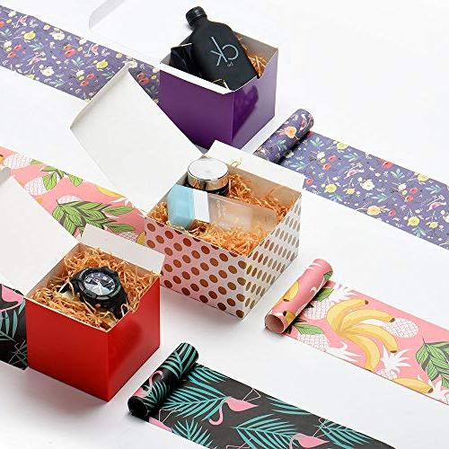 MESHA x Inches, Brown Paper Gift Boxes Lids Gifts,