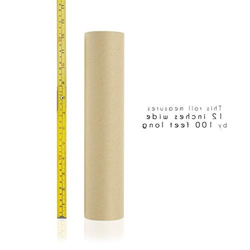 Jumbo Packing Feet Paper Roll, Gift Packing, Shipping, 12 1200 Inches