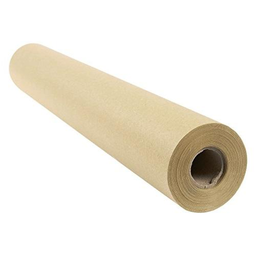 Kraft Paper - 100-Feet Jumbo Brown - for Art, Craft, Gift, Wrapping, Table Runner - 17.5 1200 Inches