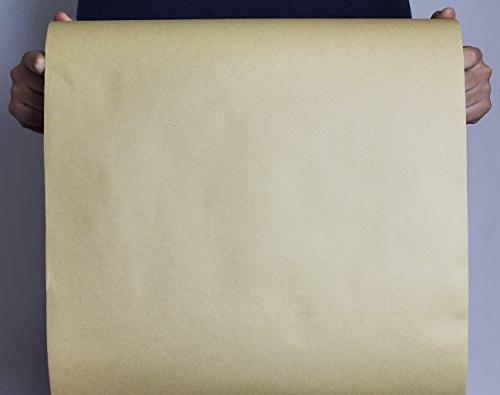 Kraft 100-Feet Value Pack, Brown Paper - for Craft, Wrapping, Covering, Runner - 17.5 1200 Inches