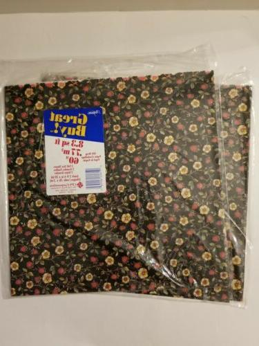 Lot 7 VTG WEDDING FLORAL Gift Wrap Paper