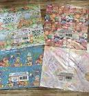 lot of 4 image craft wrapping paper sheets Baby, Bear, Relig