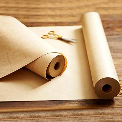 """Made in Kraft Paper 17.75"""" 1200"""" for Floor Table Runner Recycled Material"""