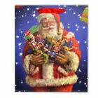 Medium Santa Christmas Gift Bag Strong Paper Bags Xmas Gifts