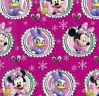 Disney Minnie Mouse Daisy Duck Christmas Wrapping Paper 60 s