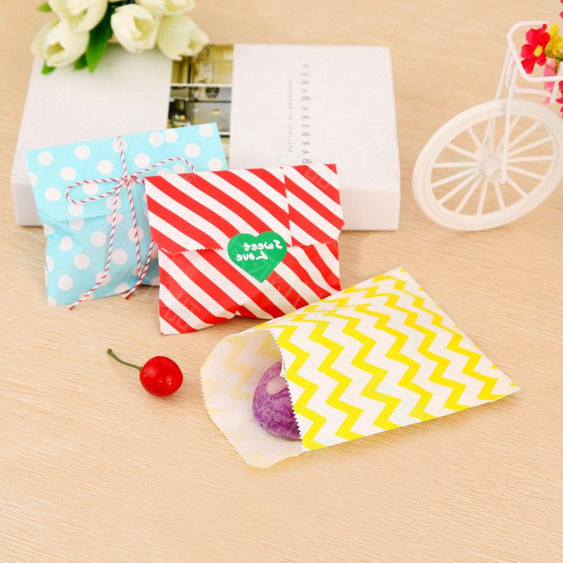multicolor polka dot paper bags gift candy