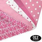 Pink Party Gift Wrapping Tissue Paper Set - 120 Sheets - Pat