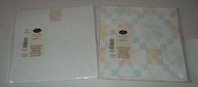 quilted embossed gift wrap 2 sheets ea