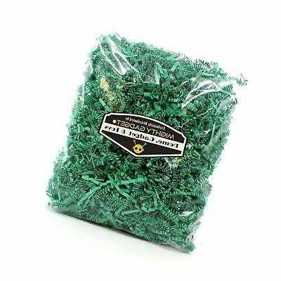 Mighty Gadget Green Paper Shred Filler Wrapping...