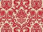 "Red Flourish on Kraft Backdrop Gift Wrap Tissue Paper 20"" X"