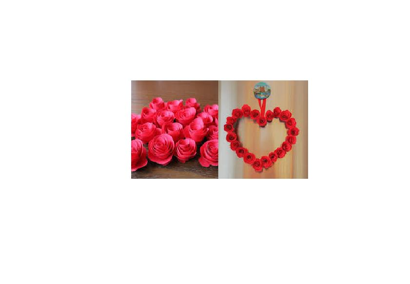 FLOMO Red Tissue Gift Crafts Day Occasions