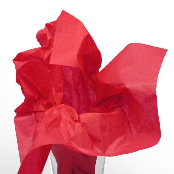 red tissue paper gift wrapping crafts valentine