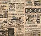 """Old Newspaper"" Retro Style Newsprint Gift Wrap Tissue Paper"