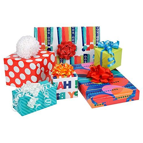 Hallmark Wrapping Paper, Balloons