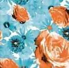 Scattered Flowers Gift Wrap Tissue Paper 10 Printed, Pattern