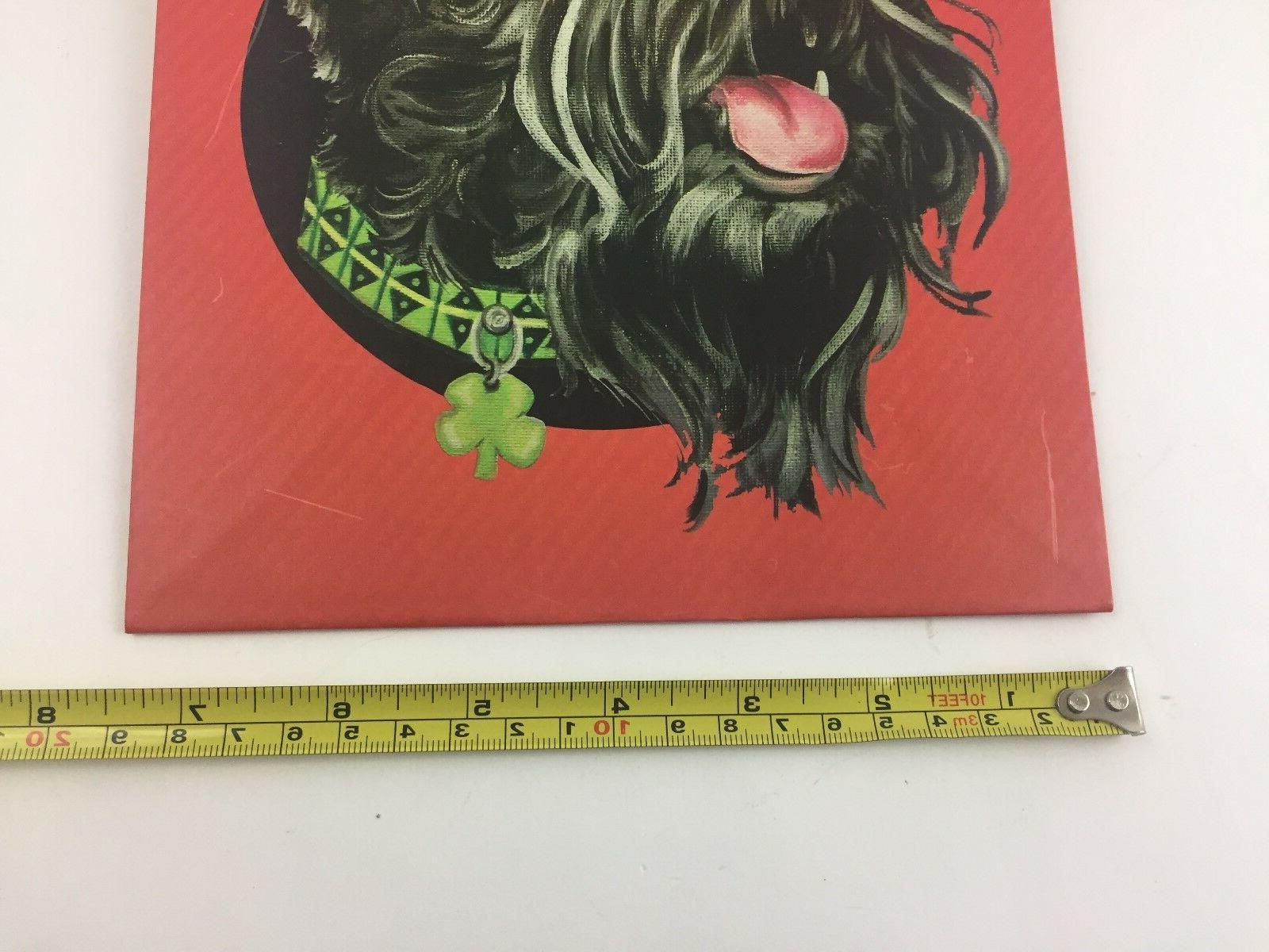 """Scottie Dog Terrier Patricks Day Bag for Gifts 9""""X7"""""""
