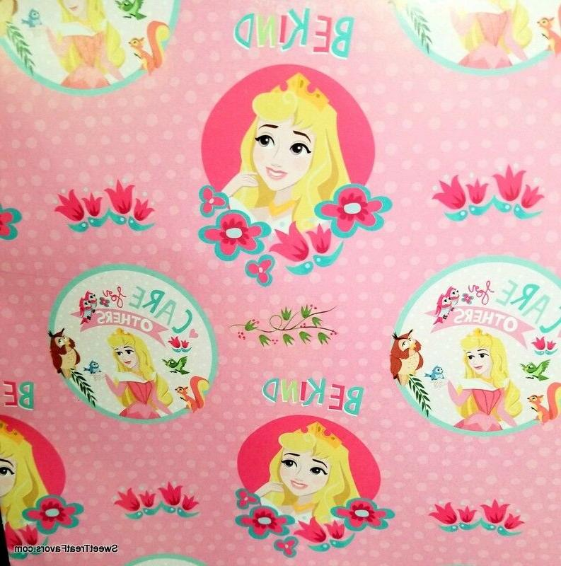 Sleeping Beauty Wrapping Paper Sheet Gift Book Cover Party 2