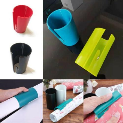 5Color Sliding Wrapping Paper Cutter Christmas Arts Gift Pap