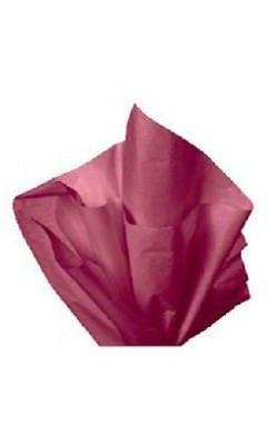 "Tissue Paper Burgundy Red Wine  20"" x 30"" 120 Large Sheets G"