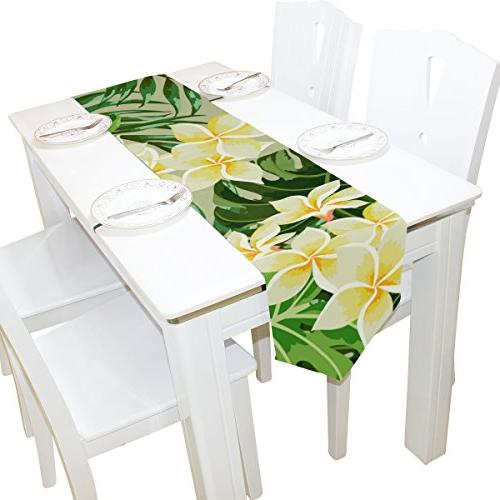 Tropical Table for Decor, inch