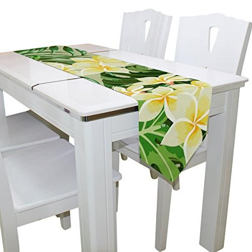 Tropical Rectangle Party, Dinner, Picnic Decor, x inch