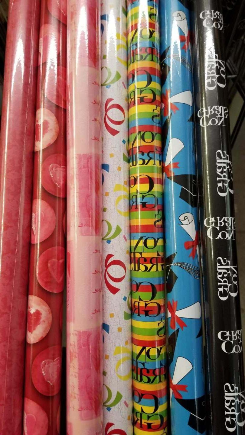 variety wrapping paper rolls 12 5 sq