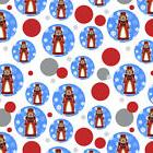 Santas Bags Decorated Wrapping Paper Storage Box Polka Dot T