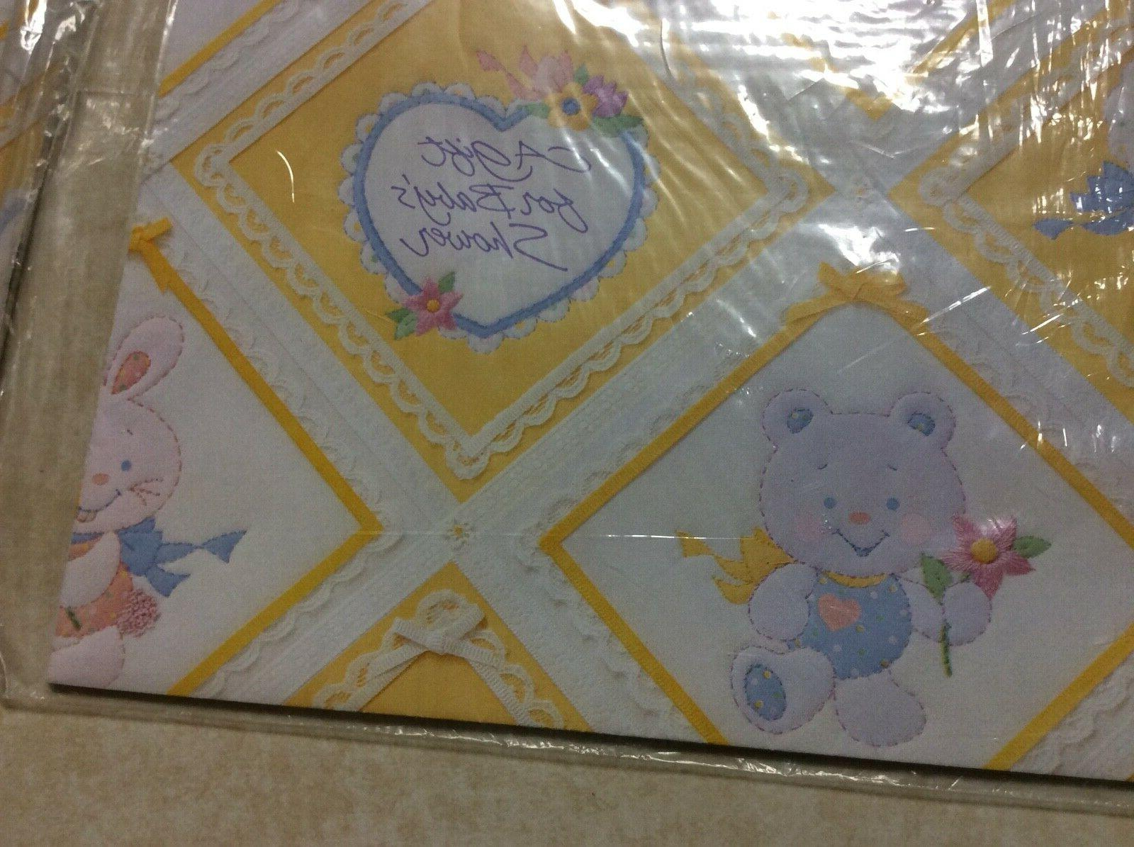 vintage american greetings wrapping paper gift wrap