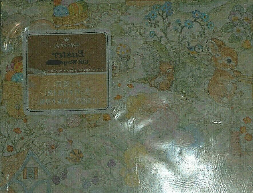 "VINTAGE EASTER PAPER, 2 SHEETS 20"" 30"", PACKAGE,"