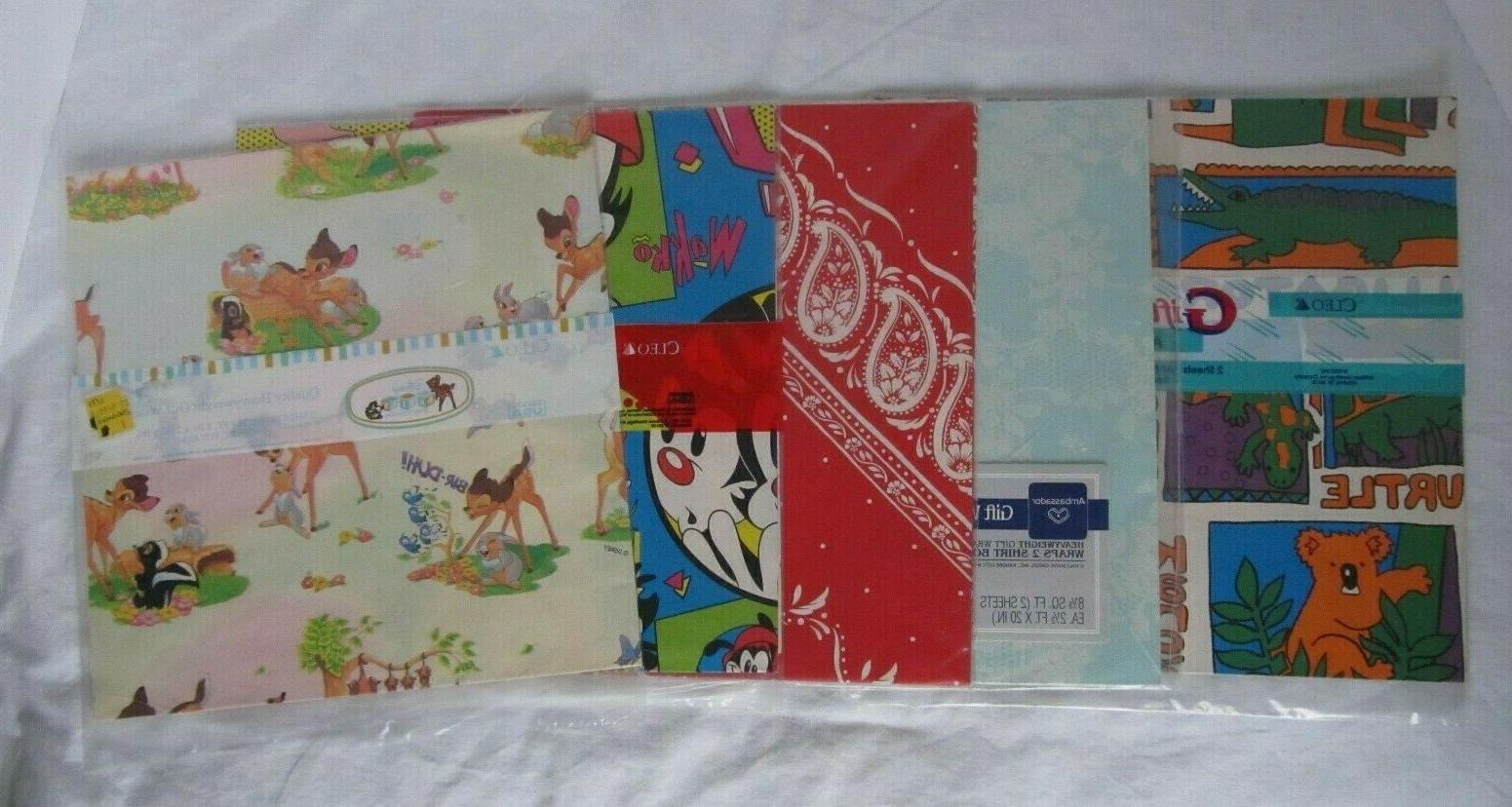 vintage gift wrapping paper u choose animaniacs