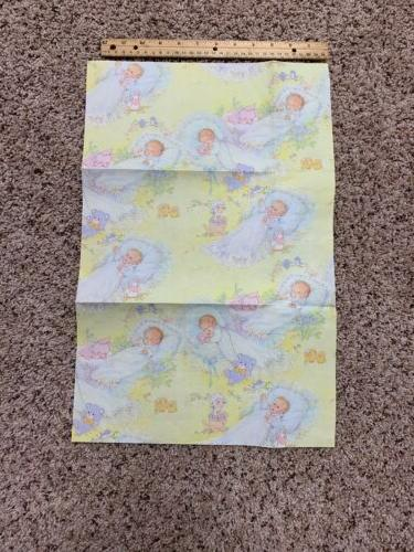 Vintage Baby Shower Gift Paper One Cute Graphics!