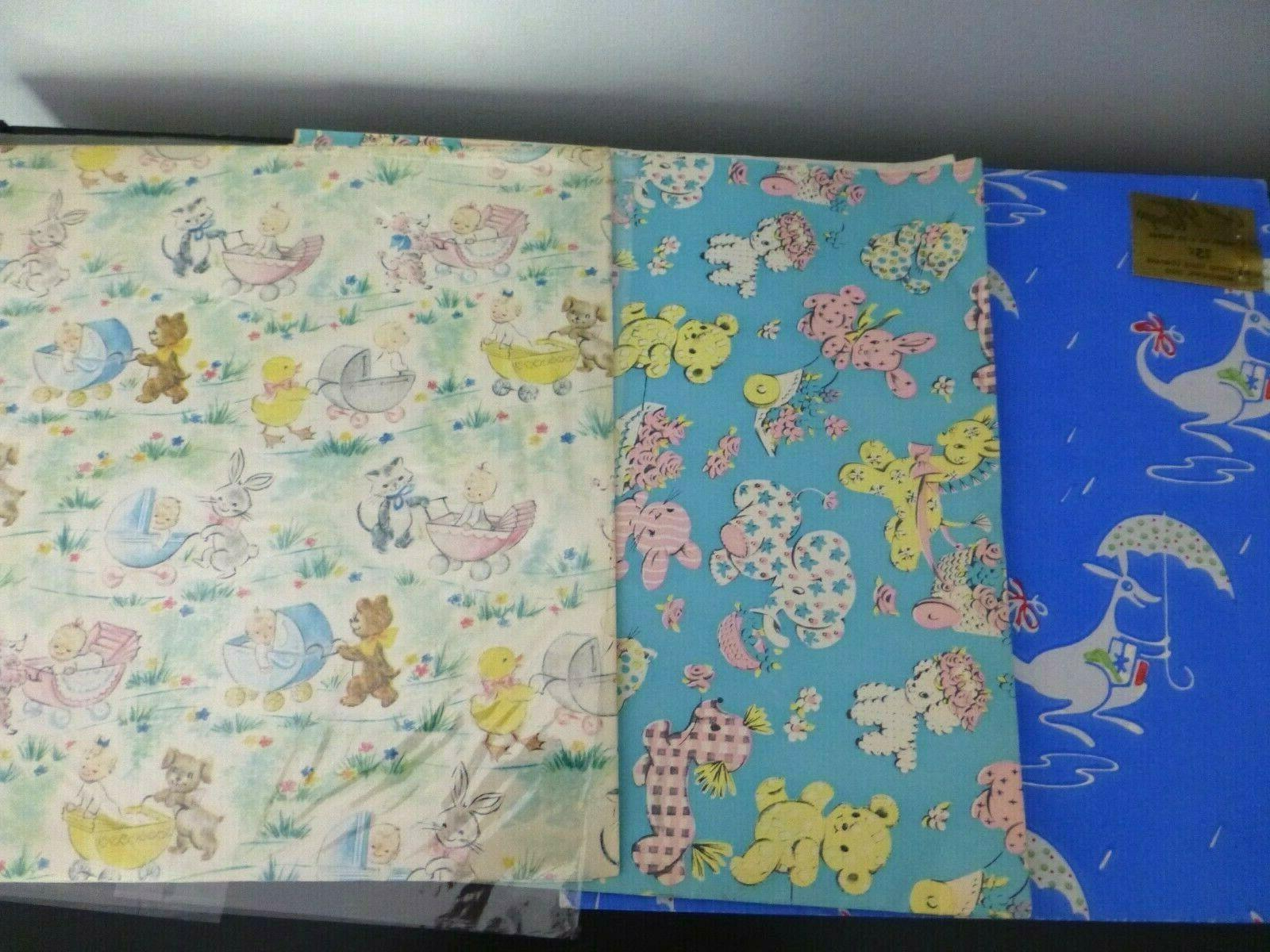 Vintage 9 Baby Shower Gift Paper Graphics!