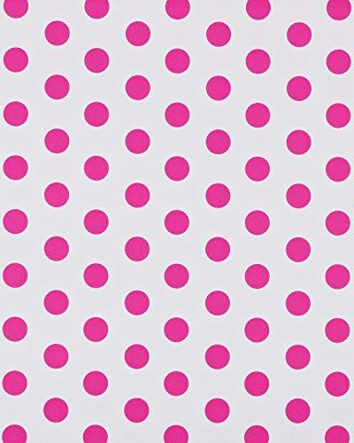 American Reversible, with Pink Polka Dots, 2.5' 12'