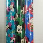 Wrapping Paper Roll Christmas 40 Sq Ft Disney Mickey Mouse M