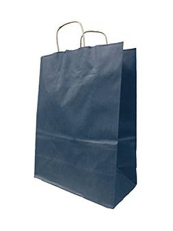 "Larger Colorful Kraft Paper Bags, 10"" Wide x 13"" tall x 5"" G"