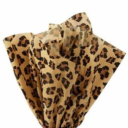 Leopard Print Tissue Paper - 120 Sheets - 20 x 30 inch Sheet