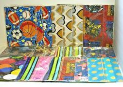 Lot of 3 American Greetings Wrapping Paper Sheets You Choose