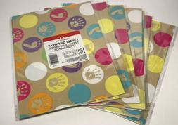 Lot Of 7 Baby Shower Wrapping Paper Gift Wrap American Greet