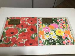 Lot of Vintage Hallmark Big Flowers Flower Power Wrapping Pa