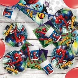 Marvel Spider-Man Party Supplies Tableware, Decorations & Ba
