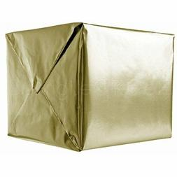 "CleverDelights Metallic Gold Wrapping Paper - 30"" X 300"" JUM"
