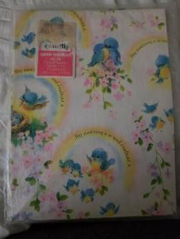 Mothers Day Gift Wrap Wrapping Paper American Greetings Pink