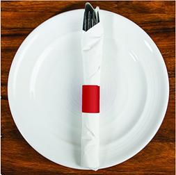 MH Paper Napkin Bands with Self-Adhesive Safety Glue and Bon