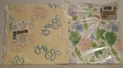 New Baby Gift Wrap * Hallmark Wrapping Paper * Two Packs * B