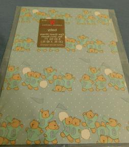 nip vintage wrapping paper for a baby