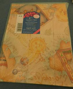 NIP VINTAGE WRAPPING PAPER SUITABLE FOR A MAN--FREE SHIPPING